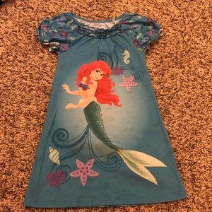 4T Disney Ariel nightgown